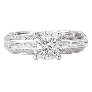 Sterling Silver Classic CZ Ring