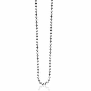 Sterling Silver Bead Chain 27″