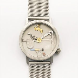 Akteo Plumber Stainless Steel Watch